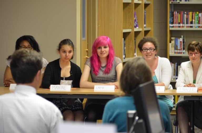 Jongerenproject Het mes in de democratie